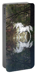 Portable Battery Charger featuring the photograph Magic by Diane Schuster