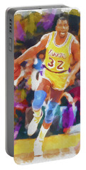 Magic Johnson Portable Battery Charger