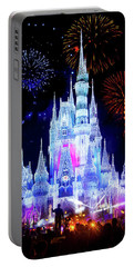 Magic Kingdom Fireworks Portable Battery Charger