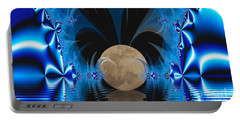 Magic Moon Portable Battery Charger by Geraldine DeBoer