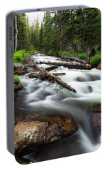 Portable Battery Charger featuring the photograph Magic Mountain Stream by James BO Insogna