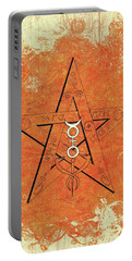 Magic, Occult, Mystic, Symbolism Portable Battery Charger