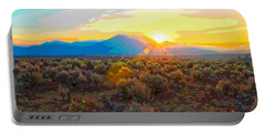 Magic Over Taos Portable Battery Charger