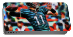 Magical Carson Wentz Portable Battery Charger by Paul Van Scott