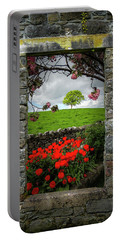 Portable Battery Charger featuring the photograph Magical County Clare Countryside by James Truett