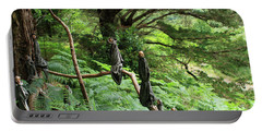 Portable Battery Charger featuring the photograph Magical Forest by Aidan Moran