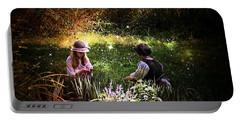 Magical Garden Portable Battery Charger