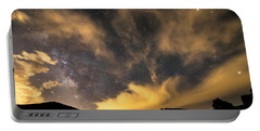 Portable Battery Charger featuring the photograph Magical Night by James BO Insogna