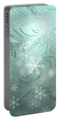 Magical Snow Portable Battery Charger by AugenWerk Susann Serfezi