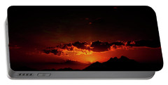 Magical Sunset In Africa 2 Portable Battery Charger