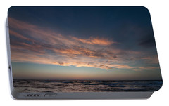 Portable Battery Charger featuring the photograph Magical Sunset by Laura Melis