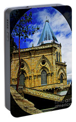 Portable Battery Charger featuring the photograph Magnificent Church Of Biblian by Al Bourassa