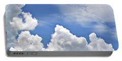 Magnificent Clouds Portable Battery Charger by Tara Potts