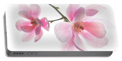 Magnolia Is The Harbinger Of Spring. Portable Battery Charger