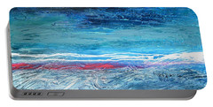 Magnificent Morning Abstract Seascape Portable Battery Charger