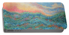 Magnificent Sunset Portable Battery Charger by Holly Carmichael