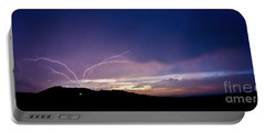 Magnificent Sunset Lightning Portable Battery Charger