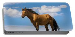 Magnificent Wild Horse Portable Battery Charger