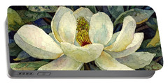 Magnolia Grandiflora Portable Battery Charger