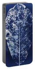 Magnolia Leaf Skeleton Portable Battery Charger