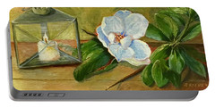 Magnolia On Mantel  Portable Battery Charger