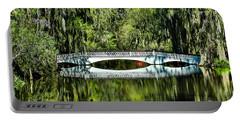 Magnolia Plantation Bridge - Charleston Sc Portable Battery Charger