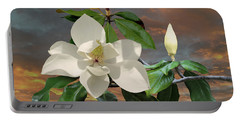 Magnolia Sunset Portable Battery Charger
