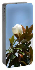 Portable Battery Charger featuring the photograph Magnolia Topper by Maria Urso