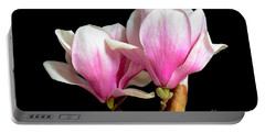 Magnolias In Spring Bloom Portable Battery Charger