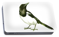 Magpie Portable Battery Charger by Suren Nersisyan
