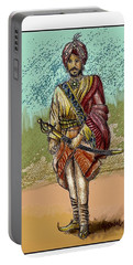 Maharajah Daleep Singh Portrait  Portable Battery Charger