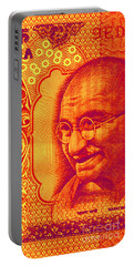 Mahatma Gandhi 500 Rupees Banknote Portable Battery Charger