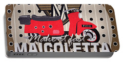Maicoletta Scooter Advertising Portable Battery Charger