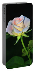 Portable Battery Charger featuring the photograph Maid Of Honour Rose 001 by George Bostian