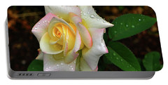 Portable Battery Charger featuring the photograph Maid Of Honour Rose 003 by George Bostian