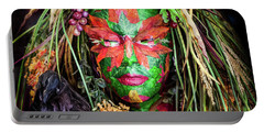 Portable Battery Charger featuring the photograph Maiden Of Earth by Karen Wiles