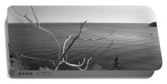 Portable Battery Charger featuring the photograph Maine Coastline by Corinne Rhode