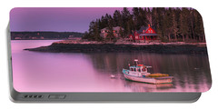 Maine Five Islands Coastal Sunset Portable Battery Charger