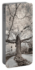Portable Battery Charger featuring the photograph Maine Neighborhood Tree by Craig J Satterlee