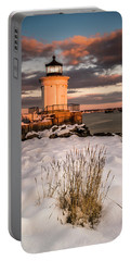 Maine Portland Bug Light Lighthouse Sunset  Portable Battery Charger