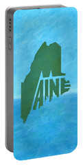 Maine Wordplay Portable Battery Charger