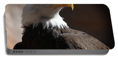 Majestic Eagle Portable Battery Charger by Marie Leslie