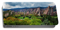 Majestic Foothills Portable Battery Charger by Kristal Kraft