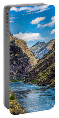 Majestic Hells Canyon Idaho Landscape By Kaylyn Franks Portable Battery Charger