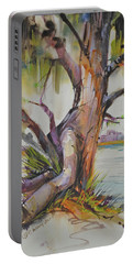 Majestic Live Oak  Portable Battery Charger by P Anthony Visco