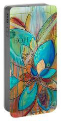 Spirit Lotus With Hope Portable Battery Charger