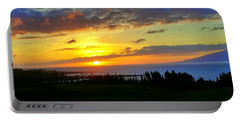 Majestic Maui Sunset Portable Battery Charger