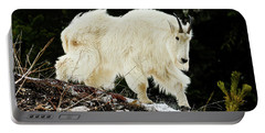 Majestic Mountain Goat Portable Battery Charger