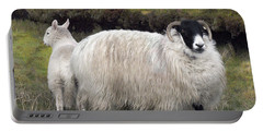 Majestic Ram Of Ireland Portable Battery Charger