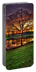 Portable Battery Charger featuring the photograph Majestic Sunrise Reflections by Reid Callaway